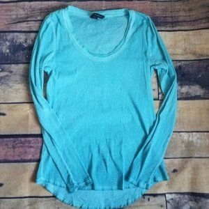 🛒 Rock and Republic Teal Long Sleeve Shirt Size L
